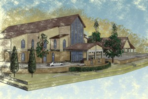 PRELIMINARY CHURCH RENDERING