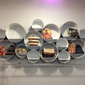 Sonotube Wall Display