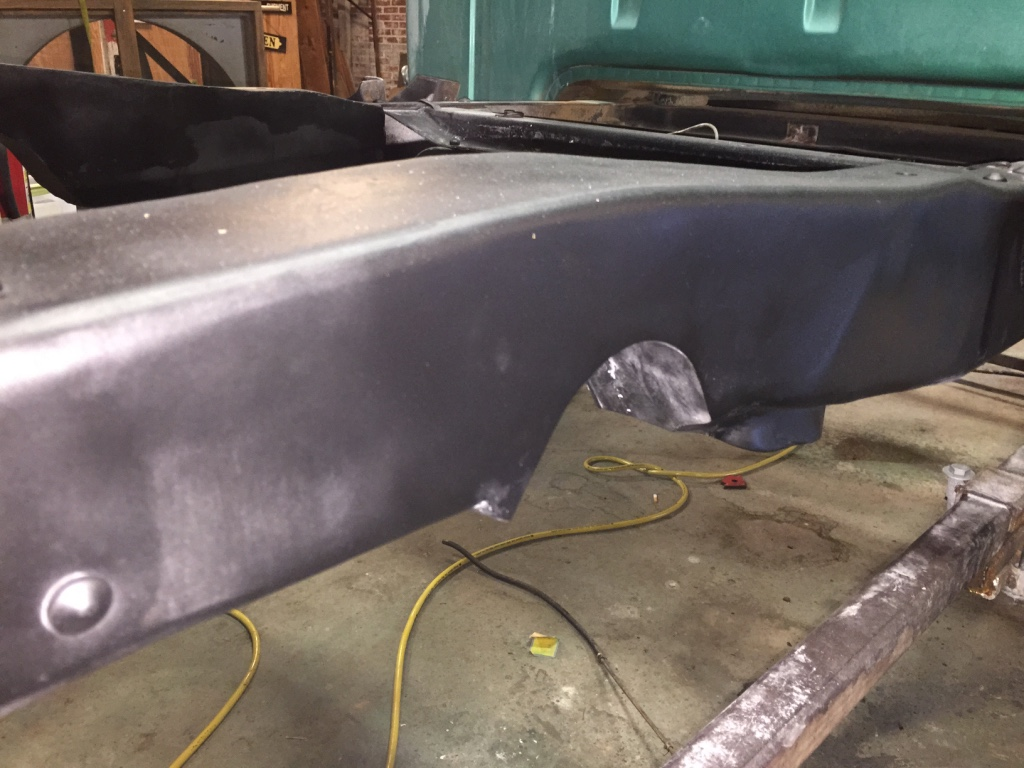 1966 Ford F100 Rear Frame Notch Random Designs Inc